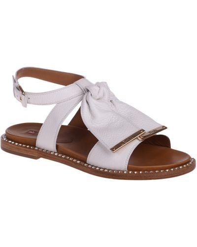Кожаные сандалии - белые Ballin