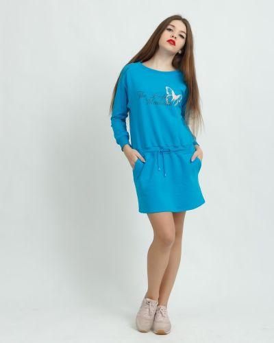 Платье с поясом платье-сарафан летучая мышь Lovitton