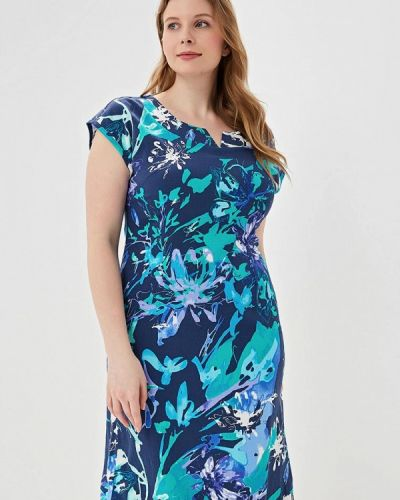 Платье синее Louitex