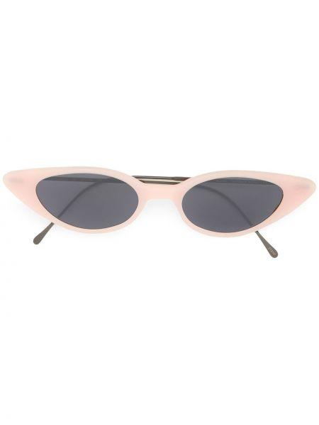 Różowe okulary srebrne Illesteva