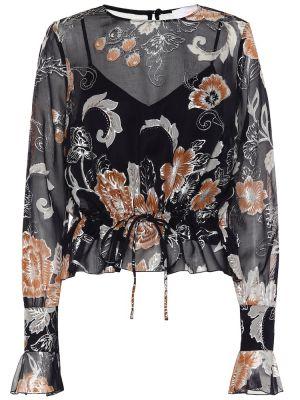 Блузка батник шелковая See By Chloé