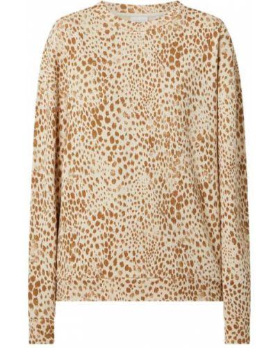 Bluza bawełniana - beżowa Rich & Royal