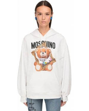 Толстовка толстовка-кенгуру оверсайз Moschino