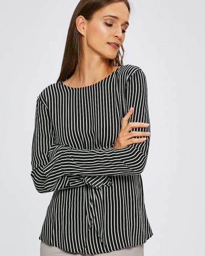 Блузка с кокеткой из вискозы Trendyol