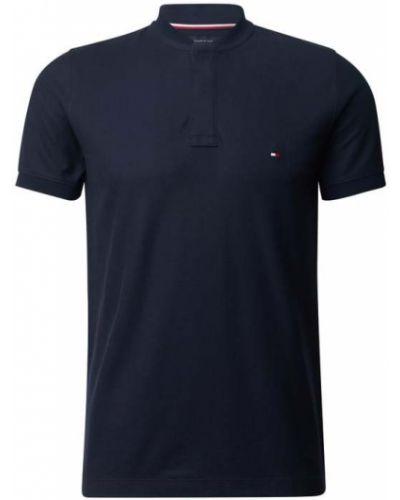 Niebieski t-shirt bawełniany Tommy Hilfiger