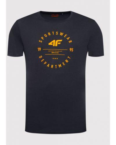T-shirt granatowa 4f