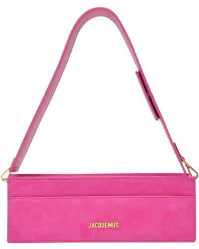 Różowa torebka Jacquemus