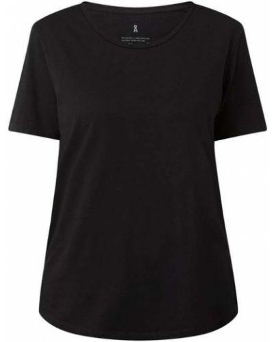 Czarna koszulka bawełniana Armedangels