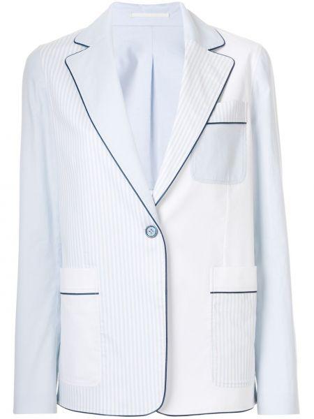 Удлиненный пиджак на пуговицах золотой Golden Goose