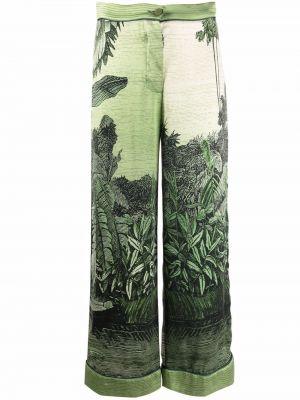 Укороченные брюки - зеленые F.r.s. For Restless Sleepers