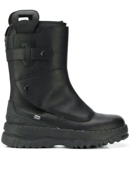 Черные кожаные ботинки Camper Lab