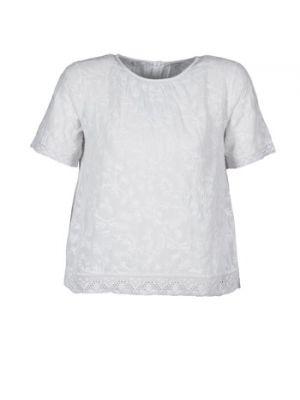 Biały t-shirt Manoush