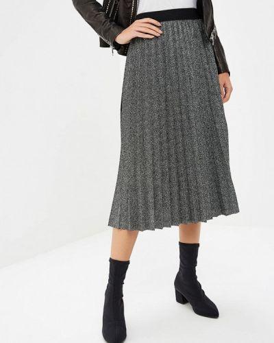 Плиссированная юбка итальянский серебряный Perfect J