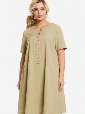 Весеннее платье хаки Venusita