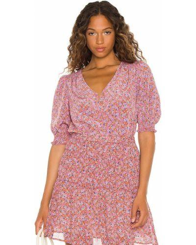 Розовая блузка с манжетами Sanctuary