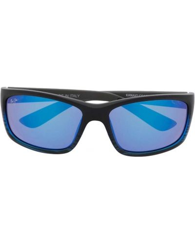 Солнцезащитные очки с логотипом - серые Maui Jim