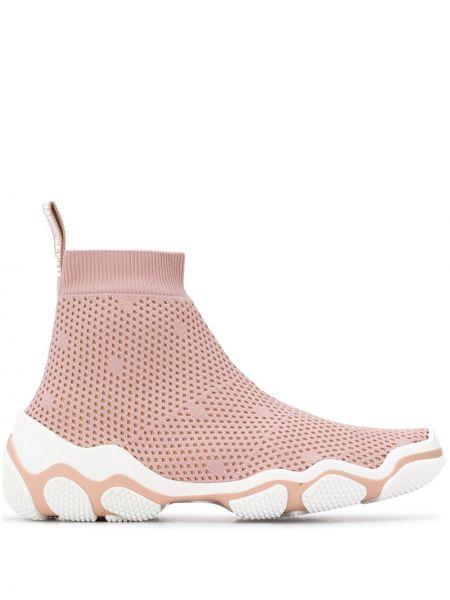 Кроссовки для бега сетчатые розовый Red Valentino