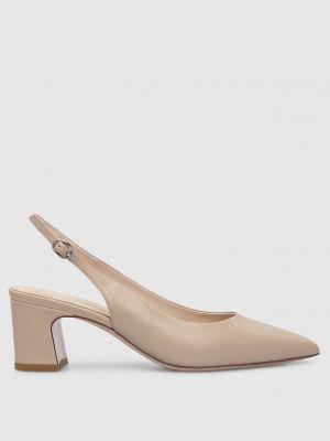 Кожаные туфли - бежевые Babe Pay Pls