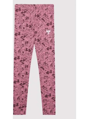 Legginsy - różowe Hummel