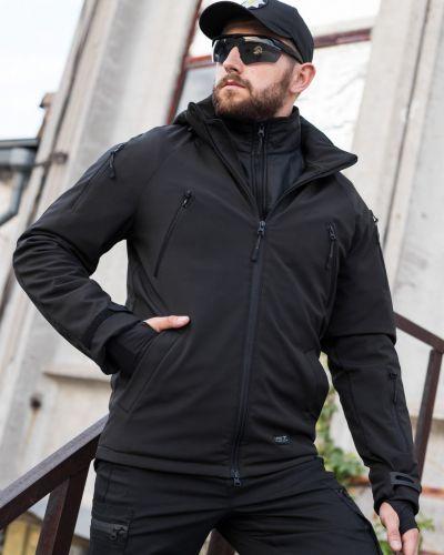 Куртка милитари - черная Fct Design