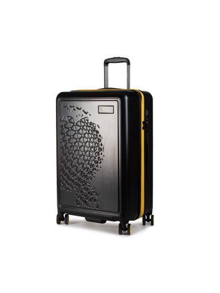 Czarna walizka średnia National Geographic