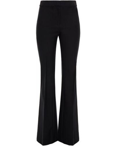 Czarne spodnie bawełniane rozkloszowane Derek Lam 10 Crosby