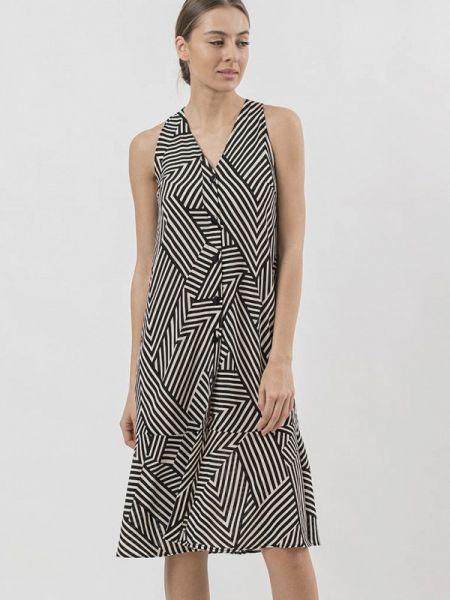 Платье платье-рубашка черное Raimaxx