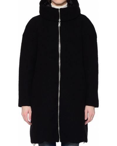 Шерстяная куртка - черная Add