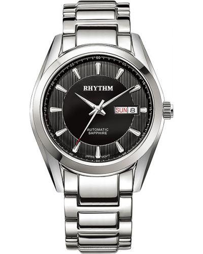 Водонепроницаемые часы с круглым циферблатом классические Rhythm