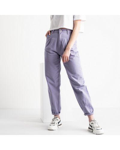 Хлопковые джинсы с высокой посадкой с карманами Top Secret