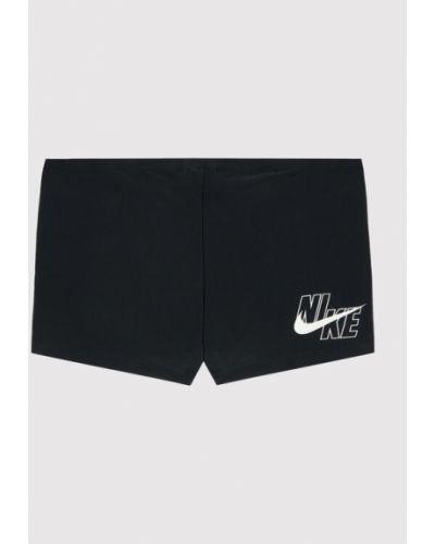 Czarne kąpielówki Nike