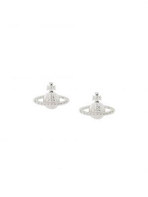 Kolczyki sztyfty srebrne Vivienne Westwood