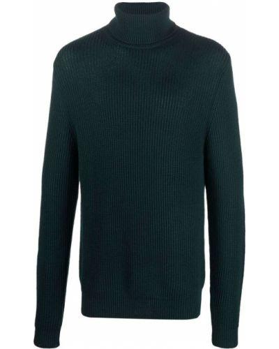 Шерстяной джемпер - зеленый Woolrich