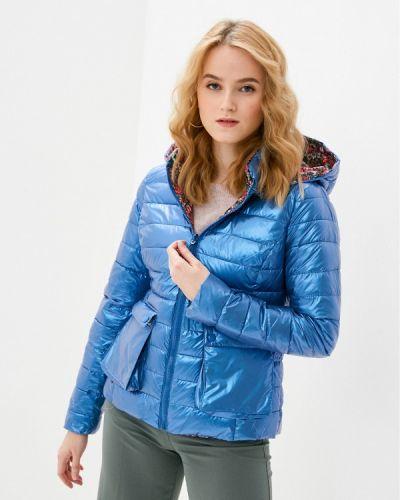 Утепленная куртка - синяя Tantra