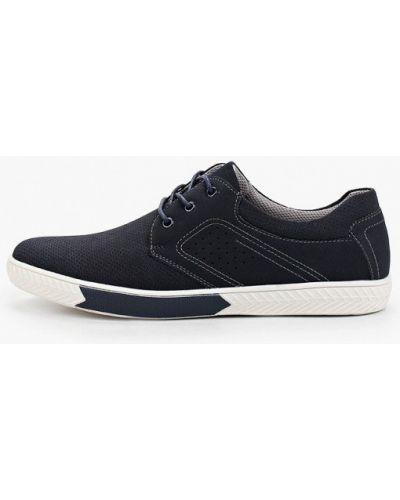 Синие ботинки из нубука Zenden Active