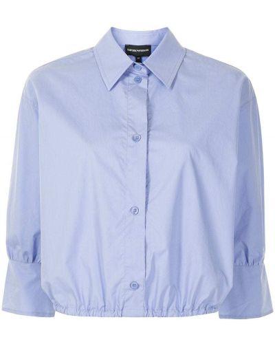 Klasyczna koszula, niebieski Emporio Armani