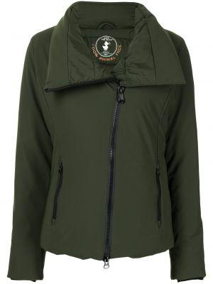 Длинная куртка - зеленая Save The Duck