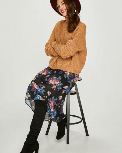 Вязаный свитер в полоску шерстяной Vero Moda
