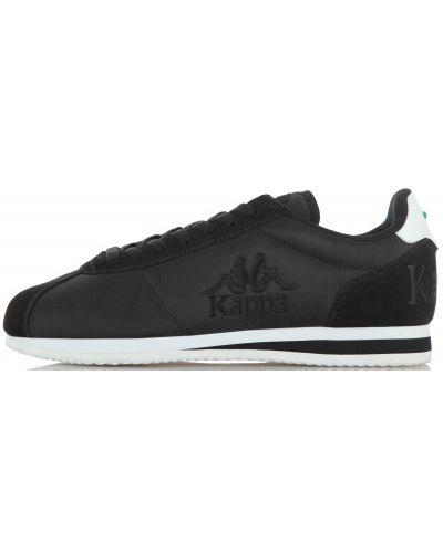 Черные кроссовки на шнуровке Kappa