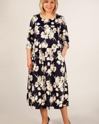 Платье с цветочным принтом классическое Groupprice