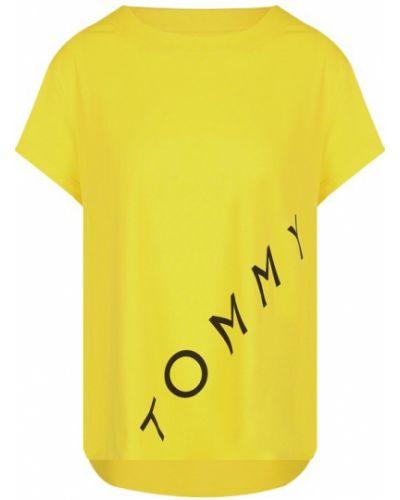 Футболка свободная с логотипом Tommy Hilfiger