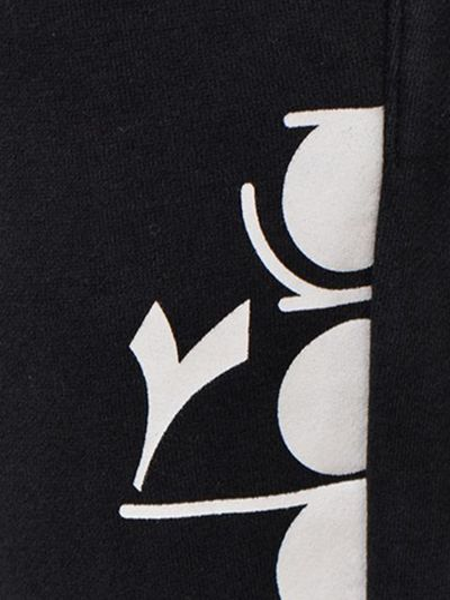 Черные спортивные брюки Diadora