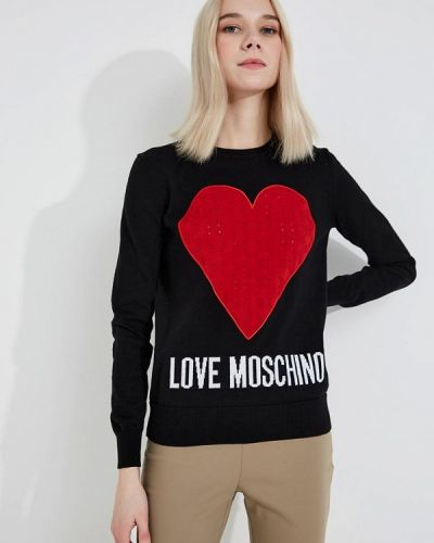 Черный джемпер Love Moschino