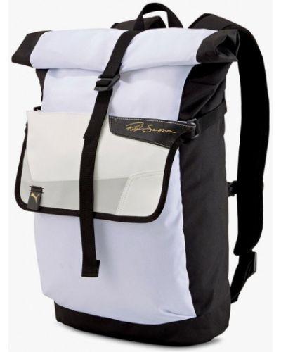 Белый текстильный рюкзак Puma