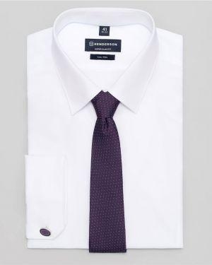 Рубашка с длинным рукавом на кнопках с манжетами под запонки Henderson