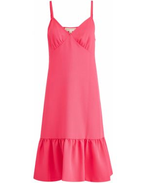 Платье миди трикотажное розовое Michael Michael Kors