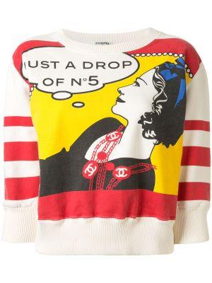 Пиджак милитари - красный Chanel Pre-owned