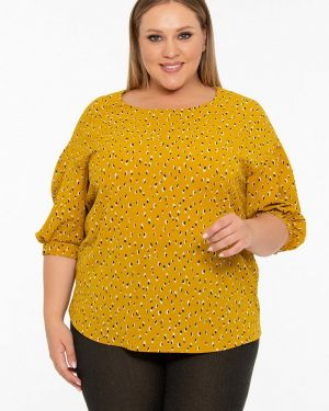 Блузка желтый Intikoma