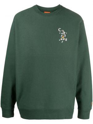 Zielona bluza z długimi rękawami bawełniana Carrots