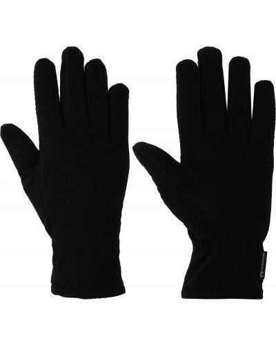 Флисовые черные перчатки на резинке Outventure